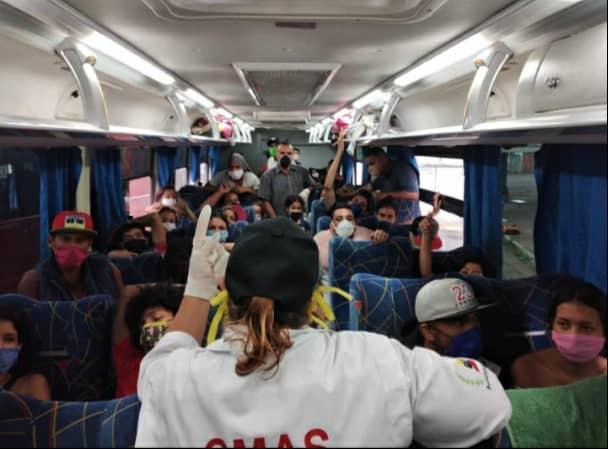 autobus migrante