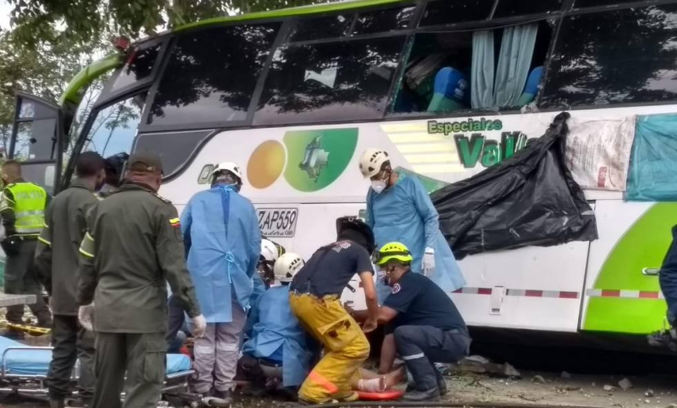 accidente autobus cali