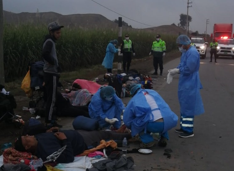 atropellados en peru