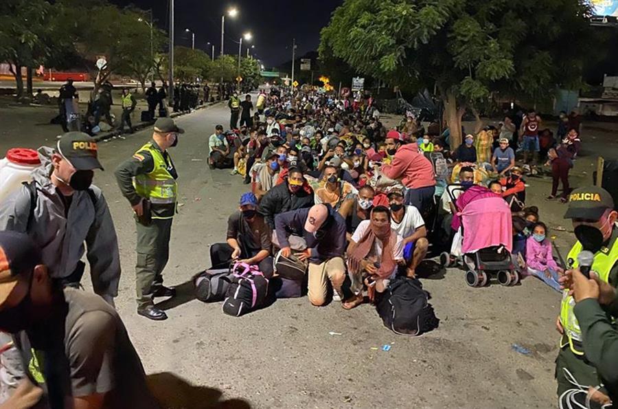 Venezolanos retornan