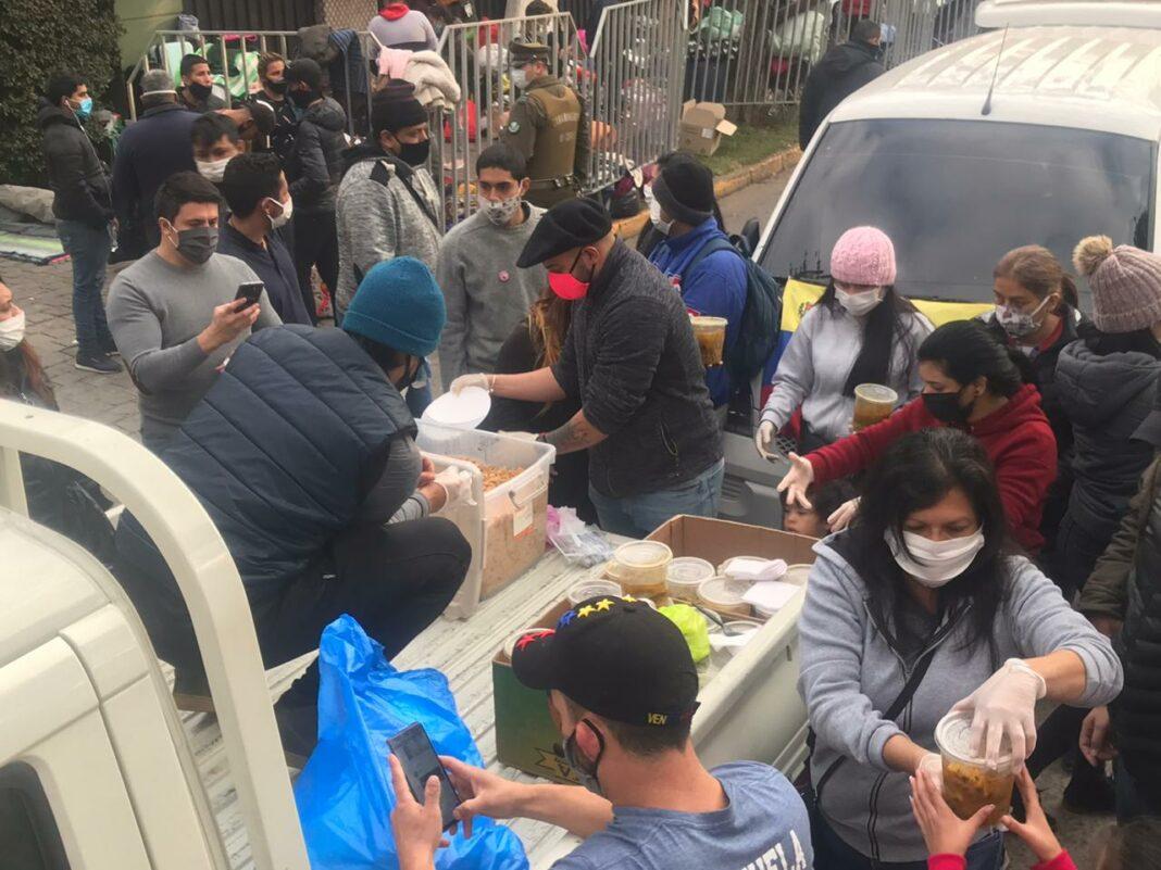 alimentos para migrantes