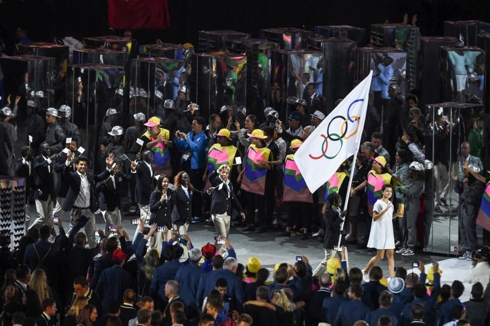 equipo olimpico de atletas refugiados