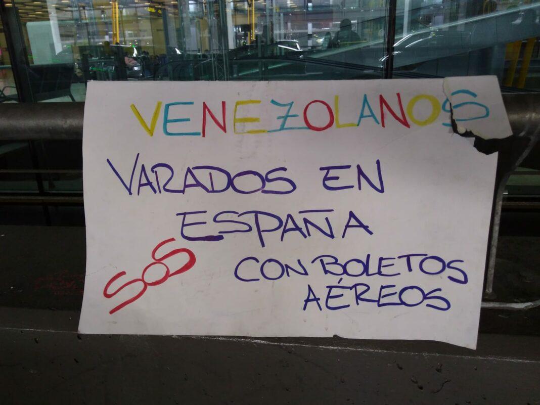 Varados en España retornan a Caracas
