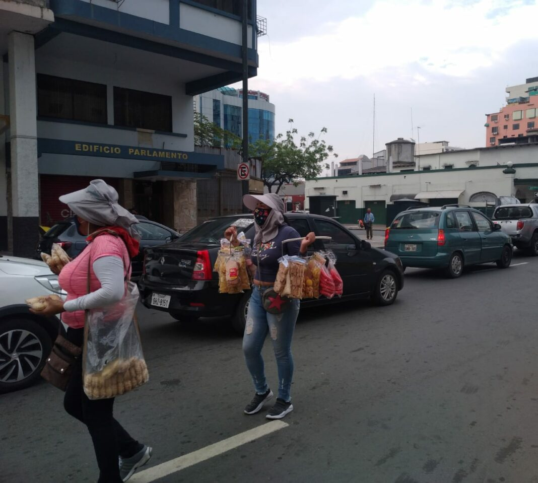Economía informal en Ecuador coronavirus