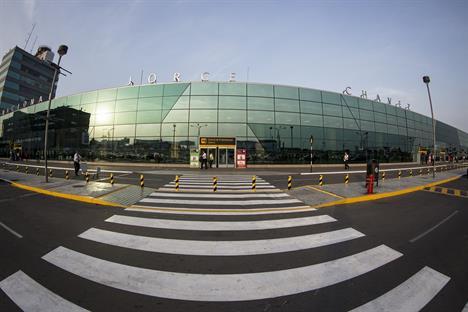 Cortesía: Aeropuerto Jorge Chávez