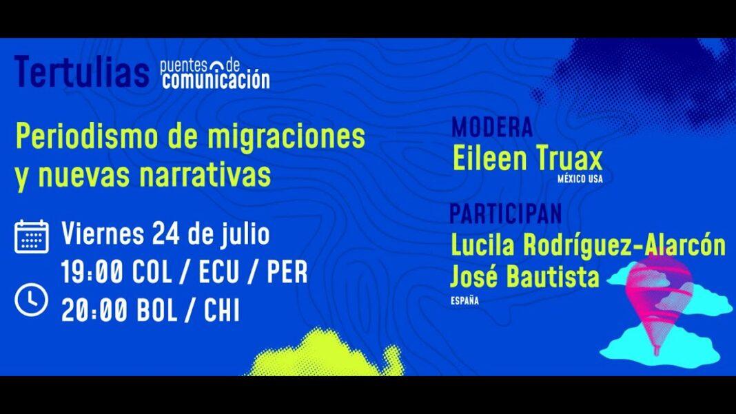tertulia sobre periodismo y migracion