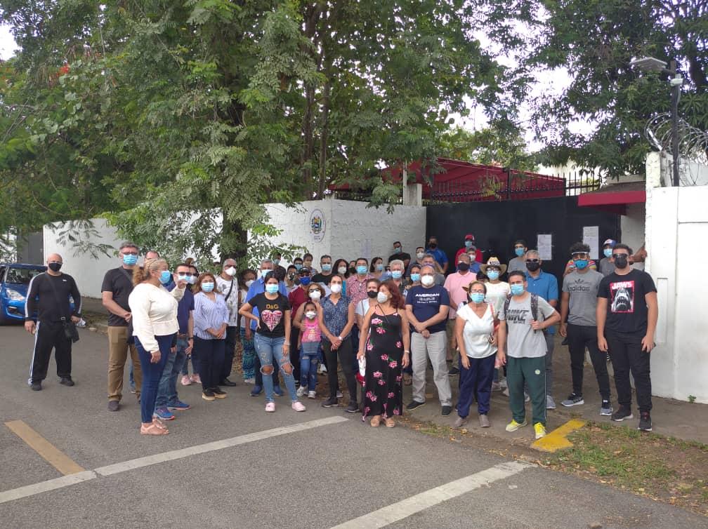 Venezolanos varados república dominicana