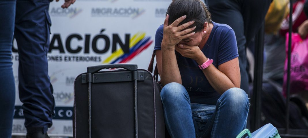 Venezolanos sin pasaporte