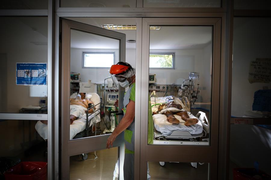 Personal sanitario venezolano en Argentina