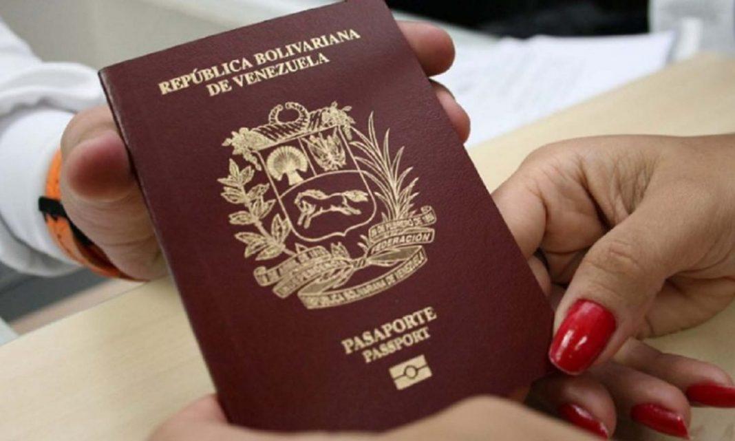 venezolanos pasaporte