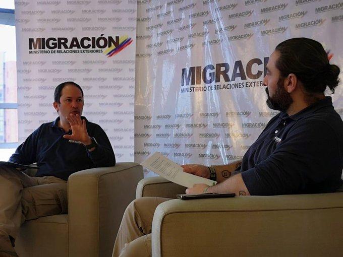 Migracion colombia venezolanos
