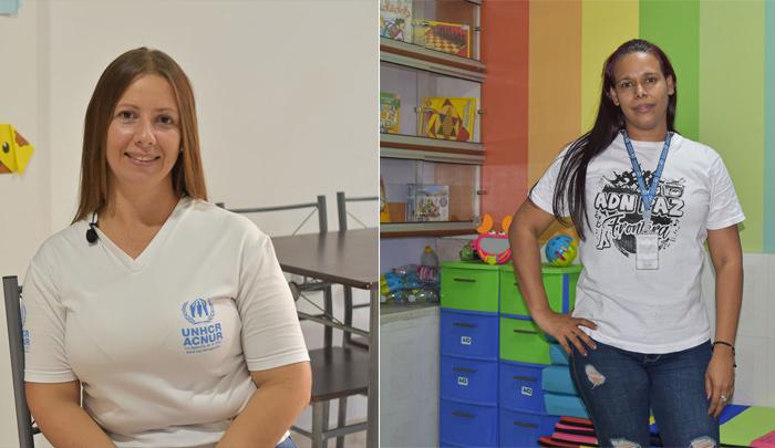 venezolanas ayudan en Colombia