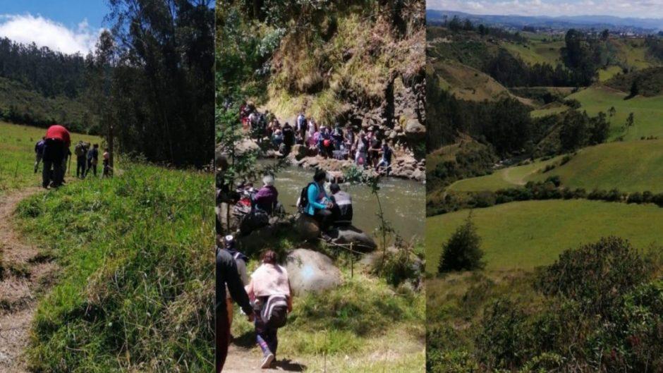 Los tramos más difíciles de la trocha Ecuador-Colombia