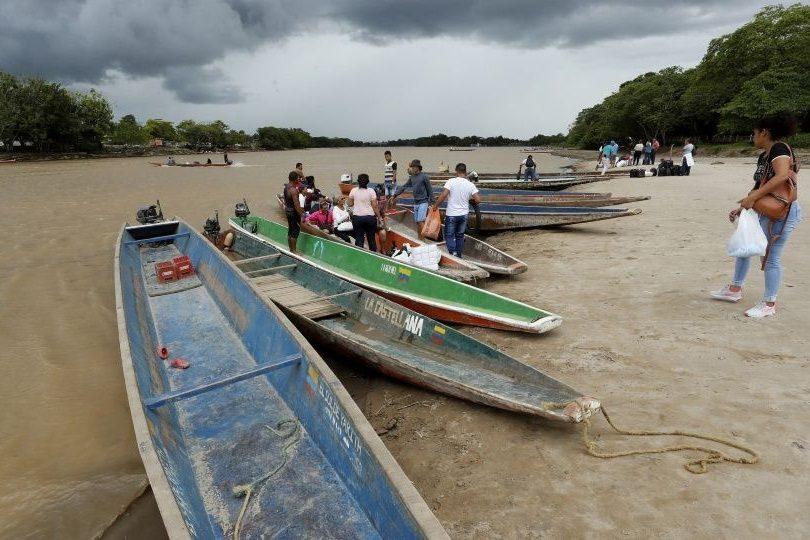 Rio Arauca frontera Venezuela Colombia