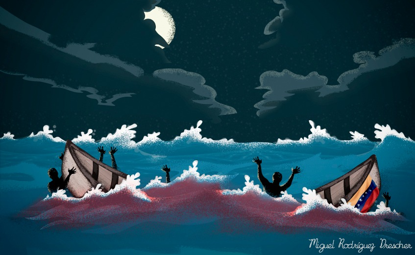 102 venezolanos han muerto o desaparecidos en el mar