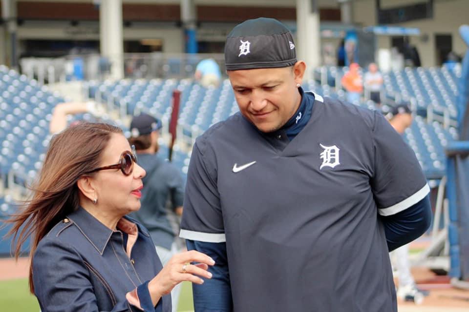 Mari Montes y Miguel Cabrera