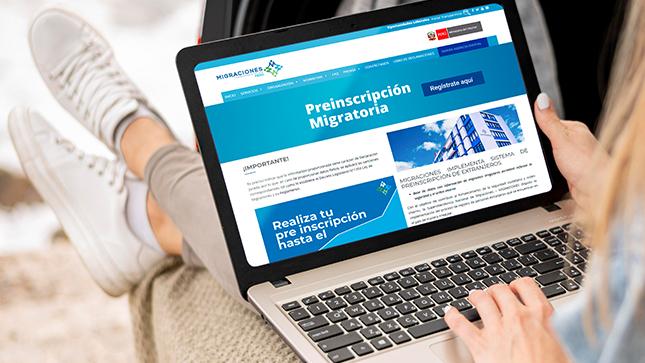 A la fecha, más de 350 mil ciudadanos extranjeros completaron el registro de manera voluntaria desde cualquier dispositivo móvil conectado a internet de manera rápida y segura.